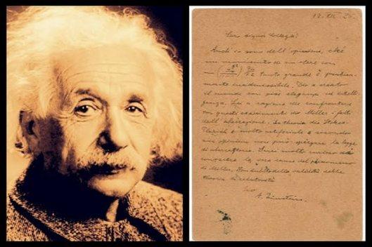 Einstein-lettera