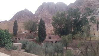 foto 2 Vista del Monastero di Santa Caterina sul Sinai